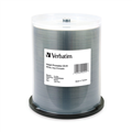 Verbatim CdR 52X 700Mb  80Min Inkjet Printable Wide White Spindle 95252 PKT100