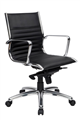 Chair Ys115Mbk Cogra Medium Back Black