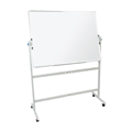 Rapidline Whiteboard Mobile Pivoting MW129 1200 x 900mm Each