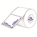 Avery Labels Thermal 101 x 150mm 76mm Core with Perforations Roll1000937602