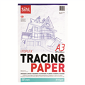 Paper Tracing Sihl A3 92Gsm 50 Leaf Transparent 0036178