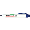 Artline Clix Marker 573 Whiteboard Bullet Blue Retractable