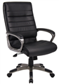 Chair Executive Capri Pu Black Lock Tilt Mechanism With Tension Control