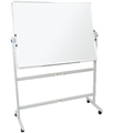 Rapidline Whiteboard Mobile Pivoting MW159 1500 x 900mm Each